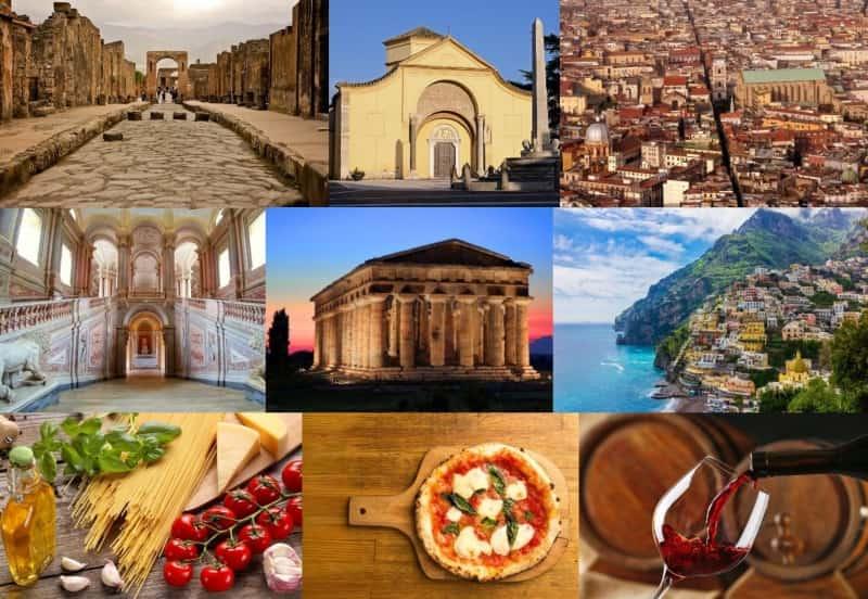 Escursioni turistiche in Campania