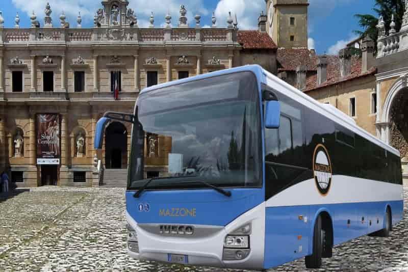 autobus tratto extraurbano